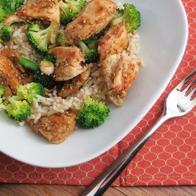 Lighter sesame chicken