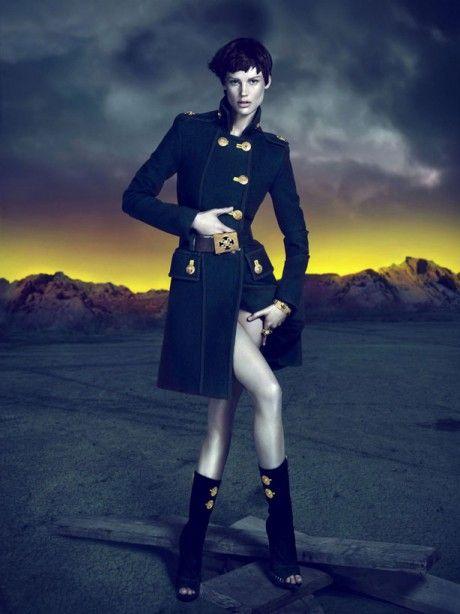 Versace military coat (Fall/Winter 2011/2012)
