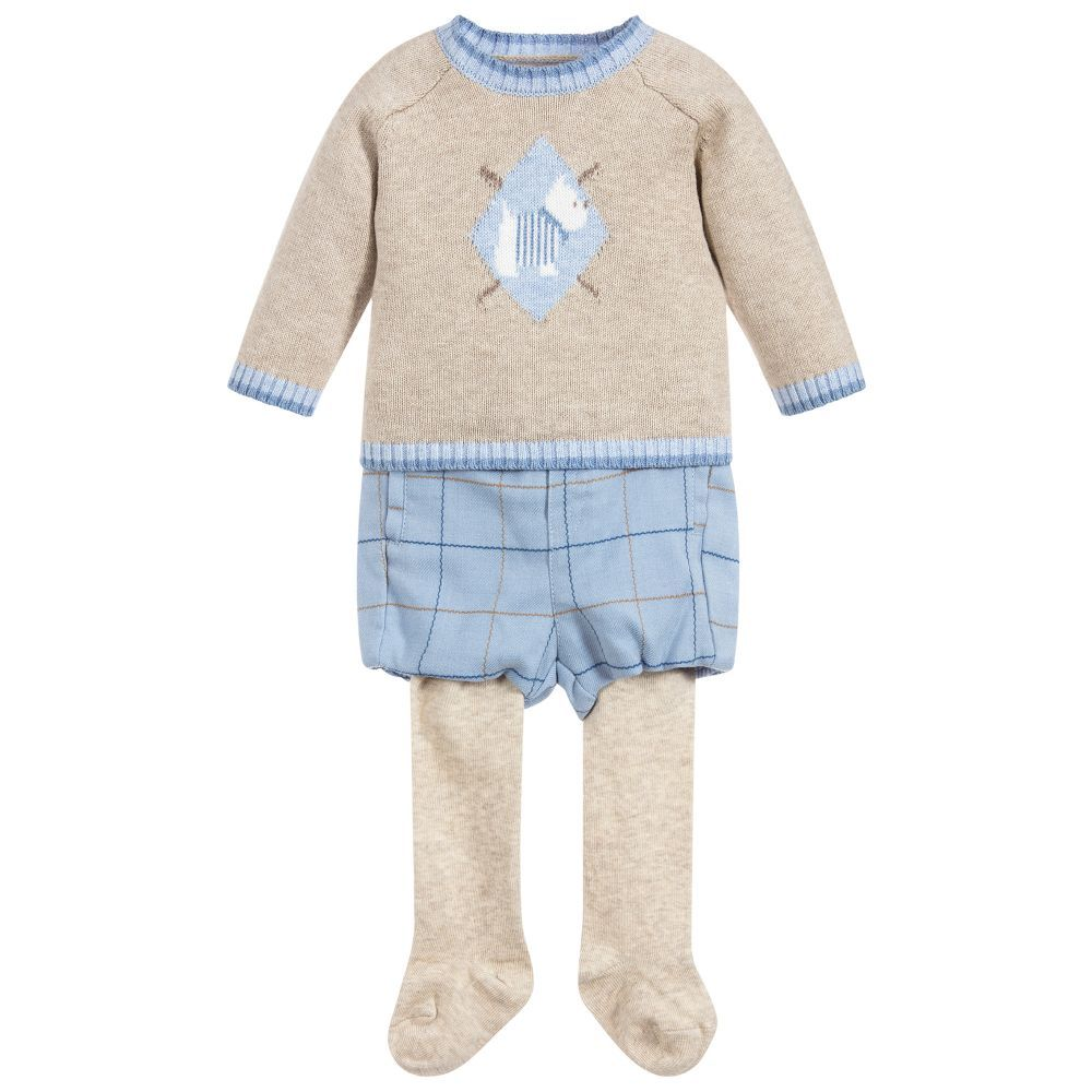 6baabccfd577 Baby Boys 3 Piece Outfit for Boy by Mayoral Newborn. Discover the ...
