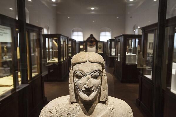 Ettuscan terracotta statue C.450BC Cortona MAEC