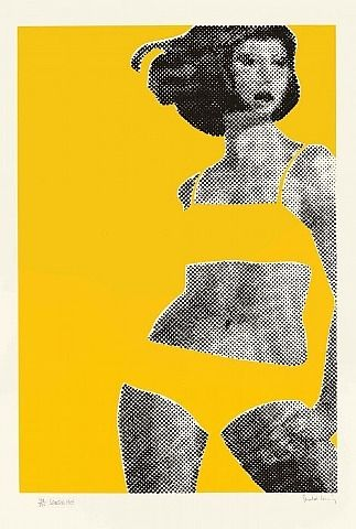 Gerald Laing 'Sandra' 1968 Great for a design project ...