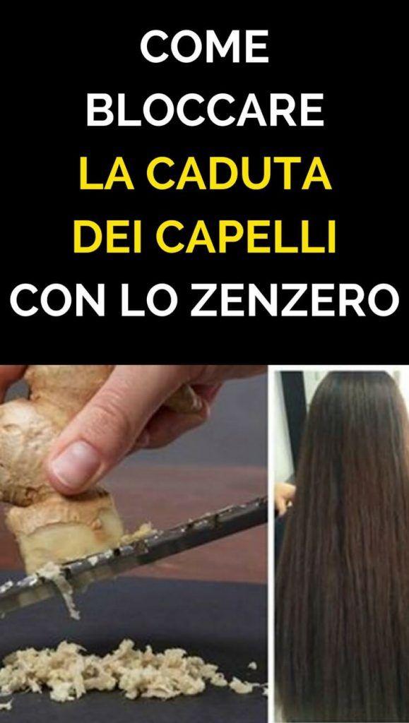 Come BLOCCARE La Caduta Dei Capelli e Farli Ricrescere in ...