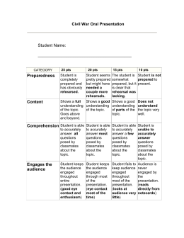 spanish oral rubric Integrated speaking rubrics toefl ibt® test score general description delivery language use topic development 4 the response fulfills the demands of the task, with.