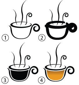 Drawing the tea cup image | Doodle | Pinterest | Tea cup image ...