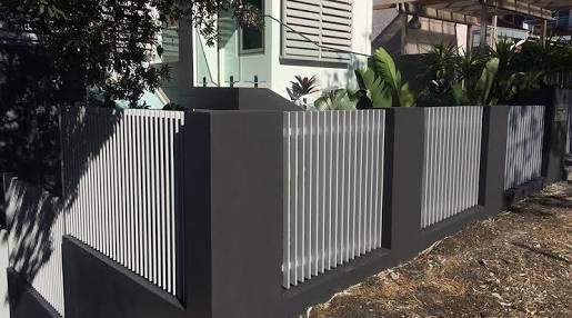 Image Result For Vertical Batten Fence Backyard Fences
