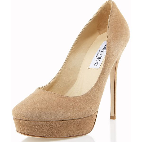 Nude shoes by Jimmy Choo