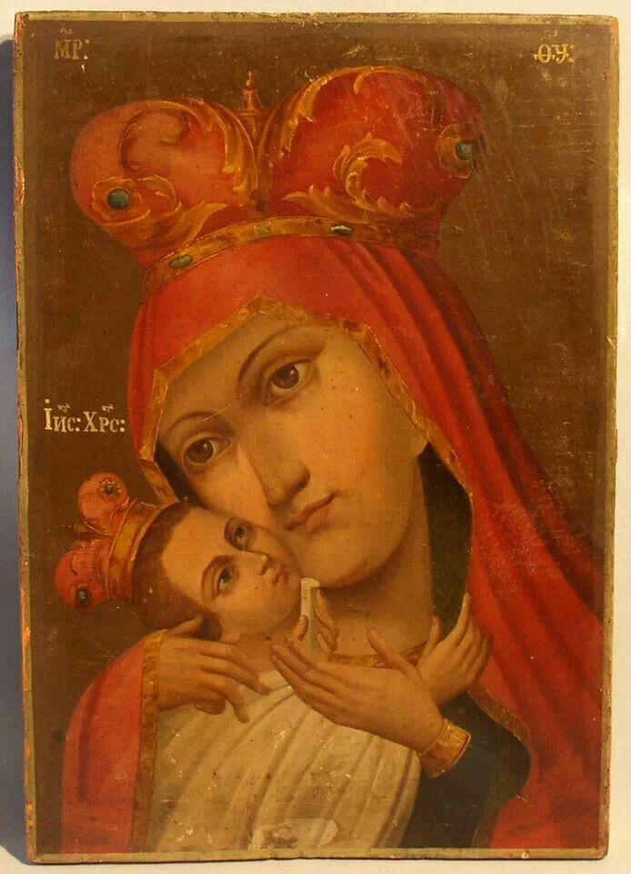 Virgin Mary and baby Jrsusm catholic. Orthodox