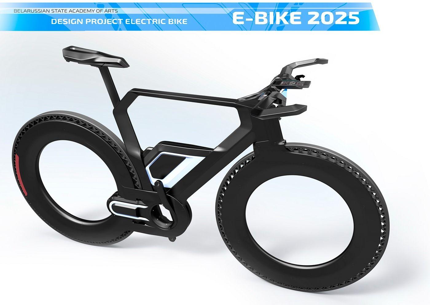 E Bike 2025 Concept On Behance Velo Vintage Velo Electrique Velo