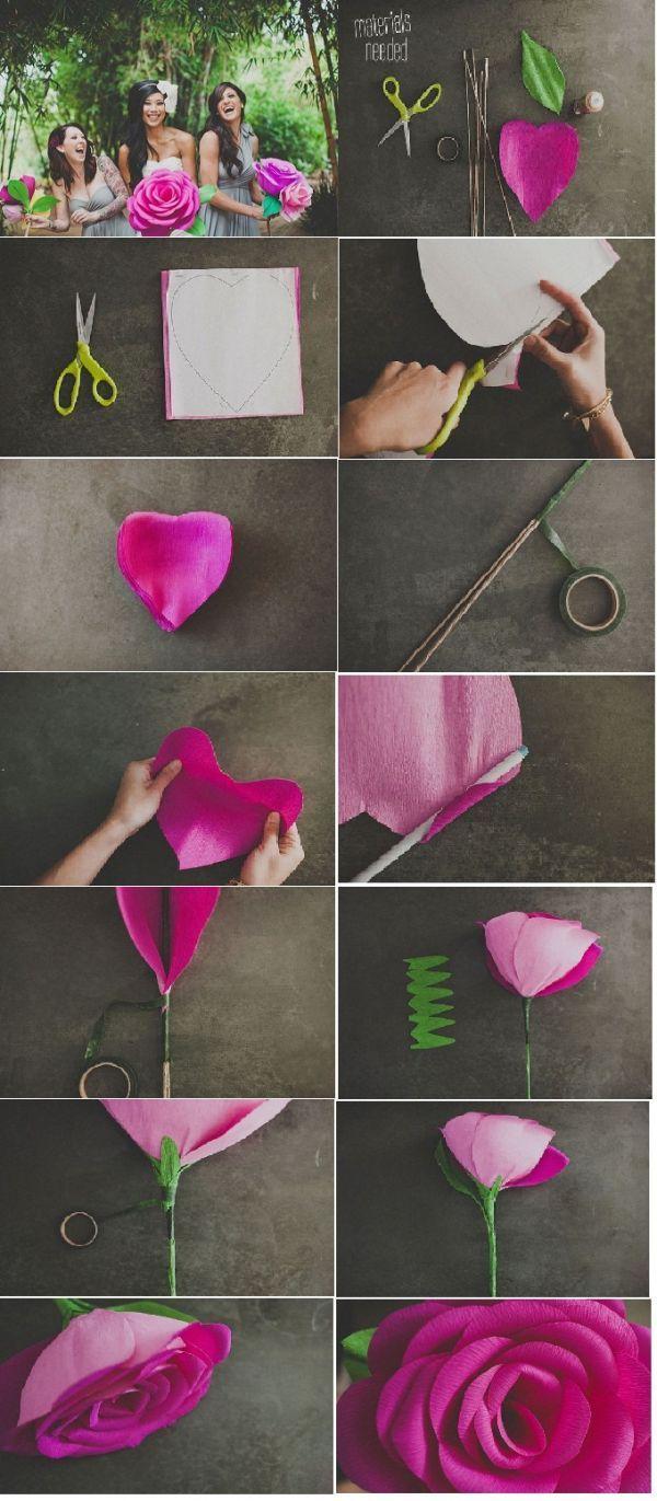 Как сделать большие цветы фото 231