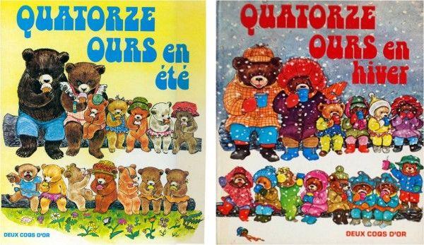 Quatorze Ours En Hiver Mon Livre Prefere Quand J Etais Petite Enfance Enfantin Ours
