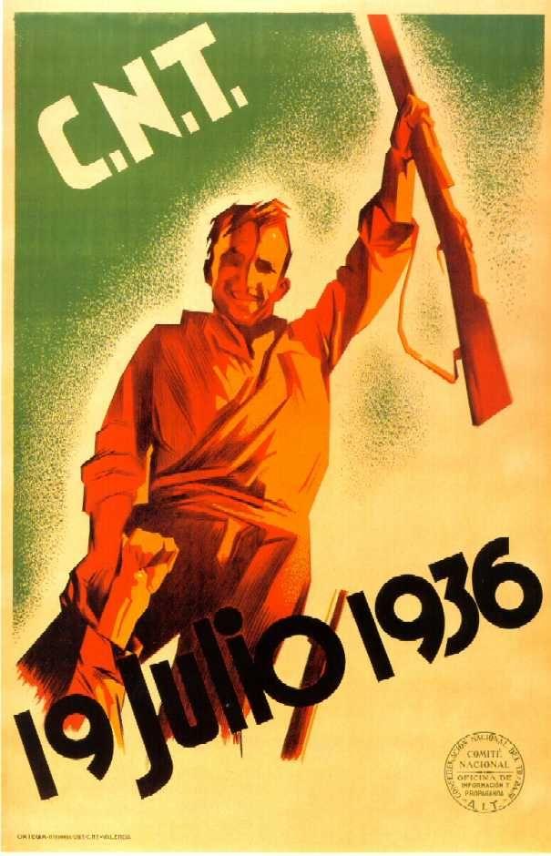 Resultat d'imatges de CARTELL 19 JULIOL 1936