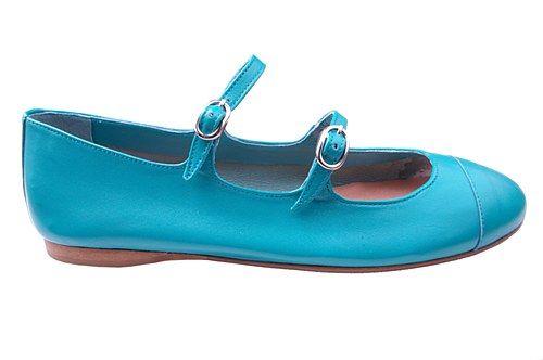 Papanatas Teal Double Strap #ladida #shoes #ladidakids