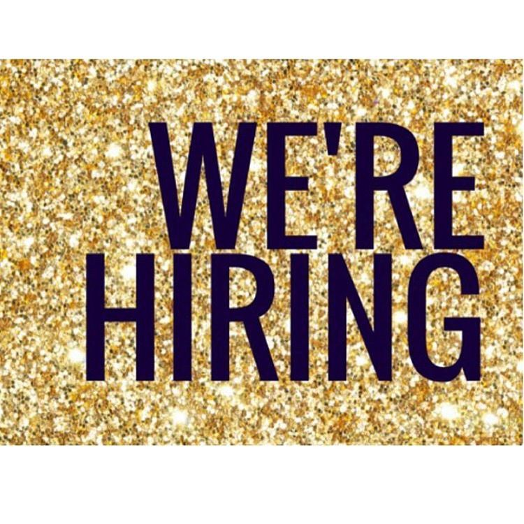 We are hiring! Email for