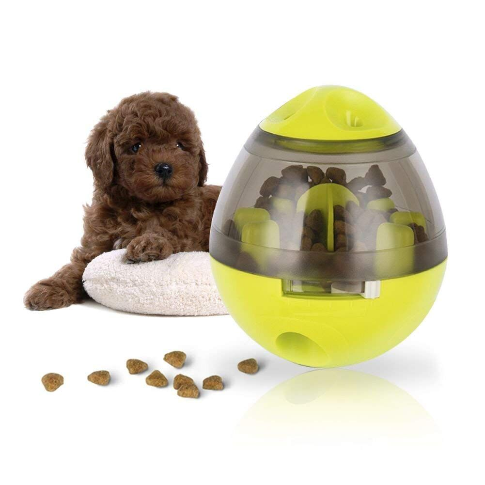 Lesfit Dog Food Dispenser Ball Pet Iq Feeder Interactive Toys