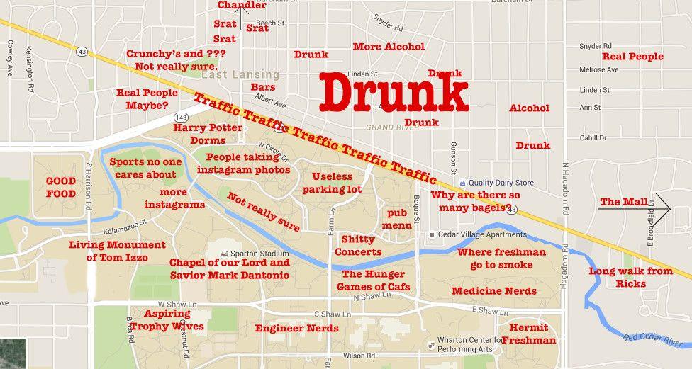 michigan state university judgmental map