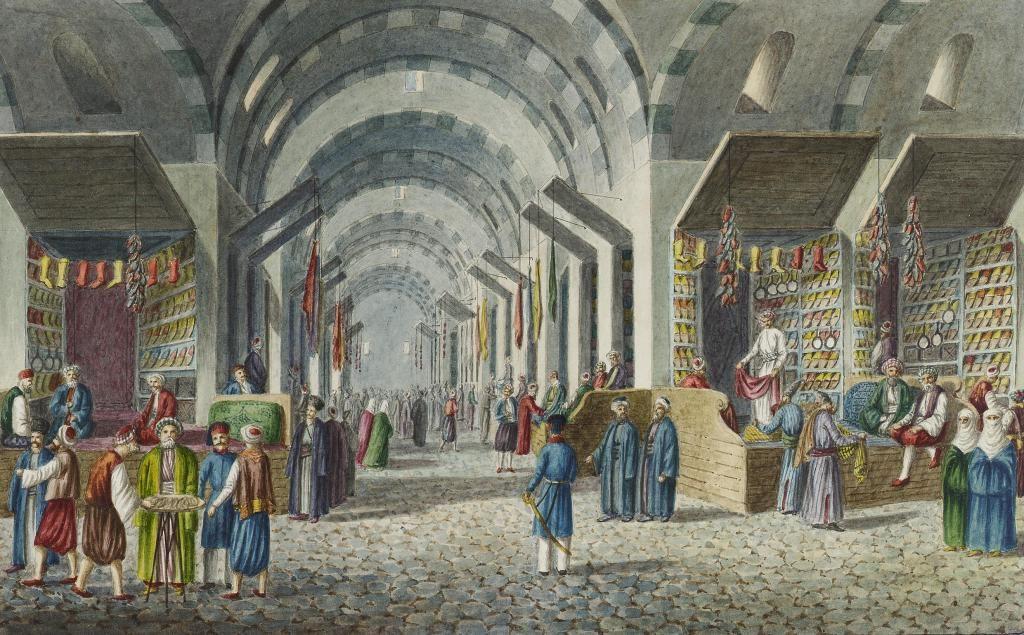 Ottoman Empire Pics (@OttomanArchive) | Çarşılar, Istanbul, 19. yüzyıl