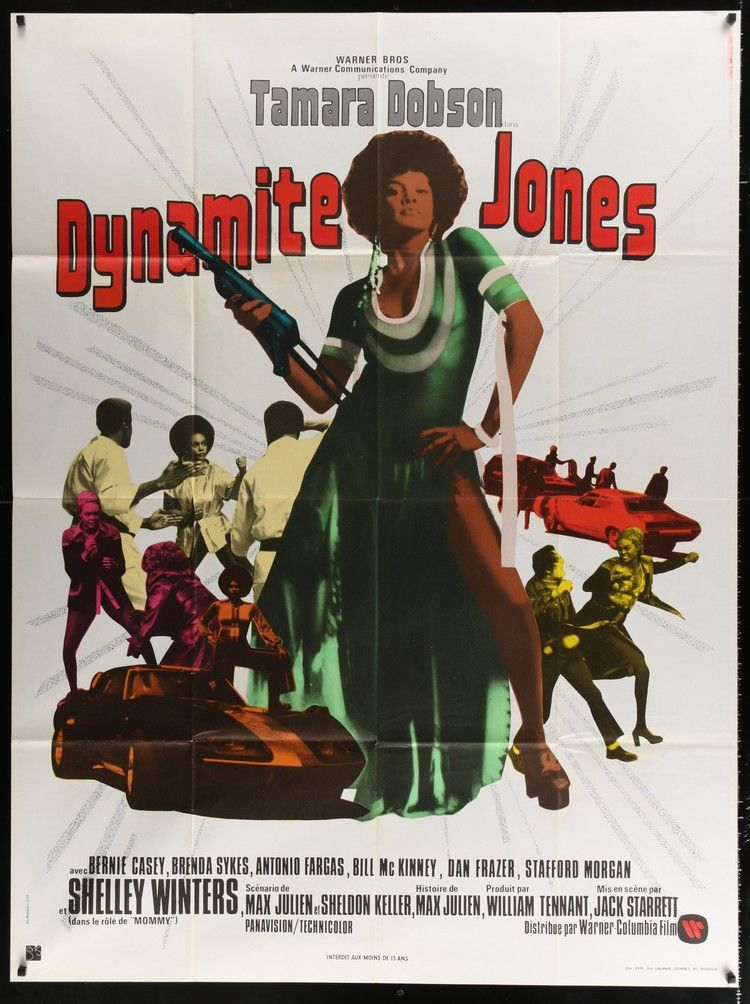 Cleopatra Jones Blaxploitation Film Movie Posters Vintage French Movie Posters