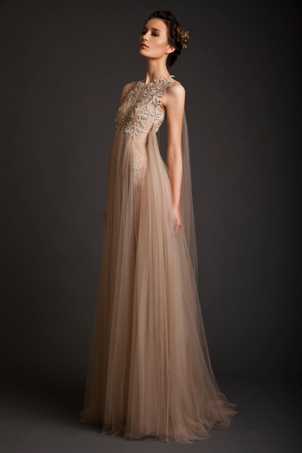 be3bf2ad2 Mis Queridas Fashionistas  Evening Dresses  Krikor Jabotian Akhtamar Collection  Spring Summer 2014
