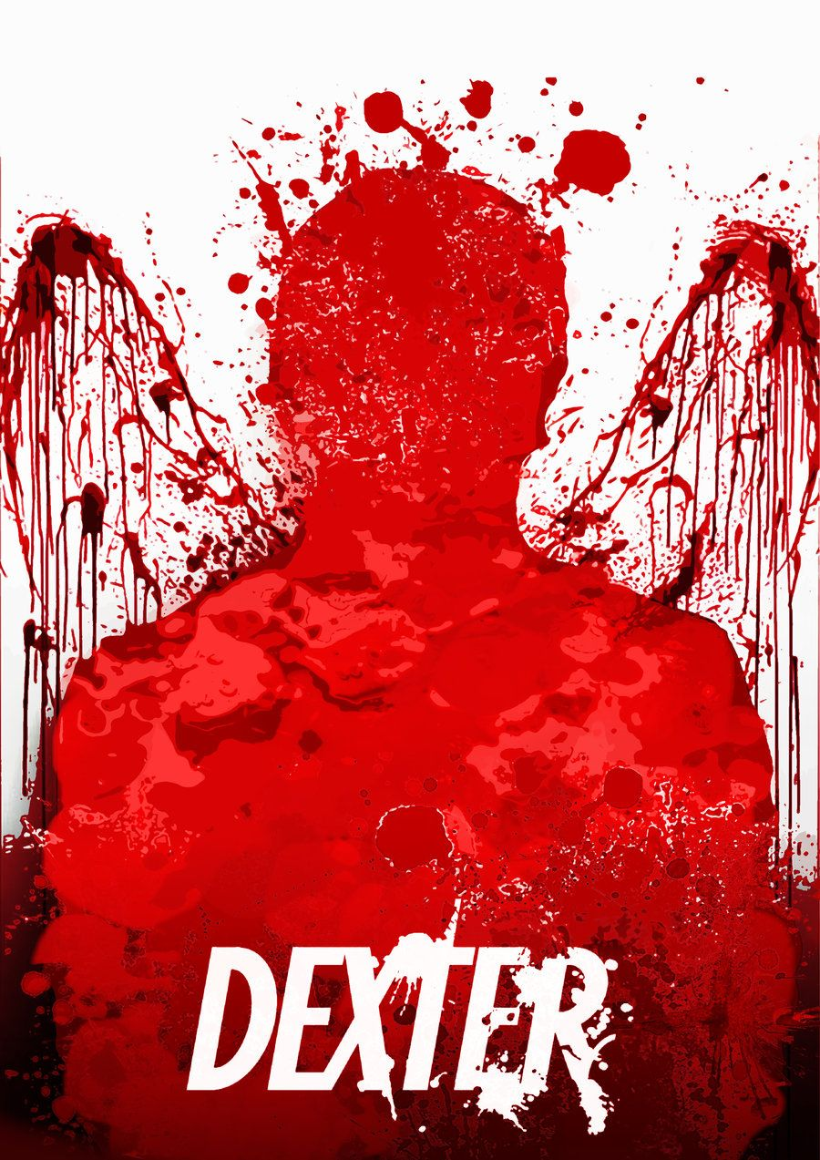 Dexter Crime Drama TV Series Showtime Splatter Dex Adult Pull-Over Hoodie