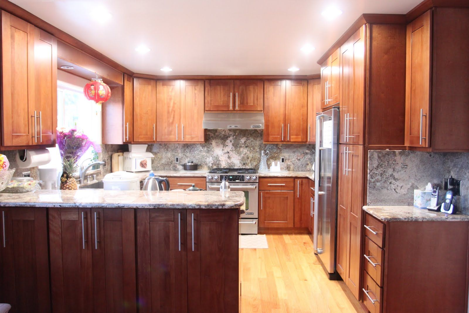 Cherry shaker kitchens cherry shaker kitchen cabinets bck cabinets