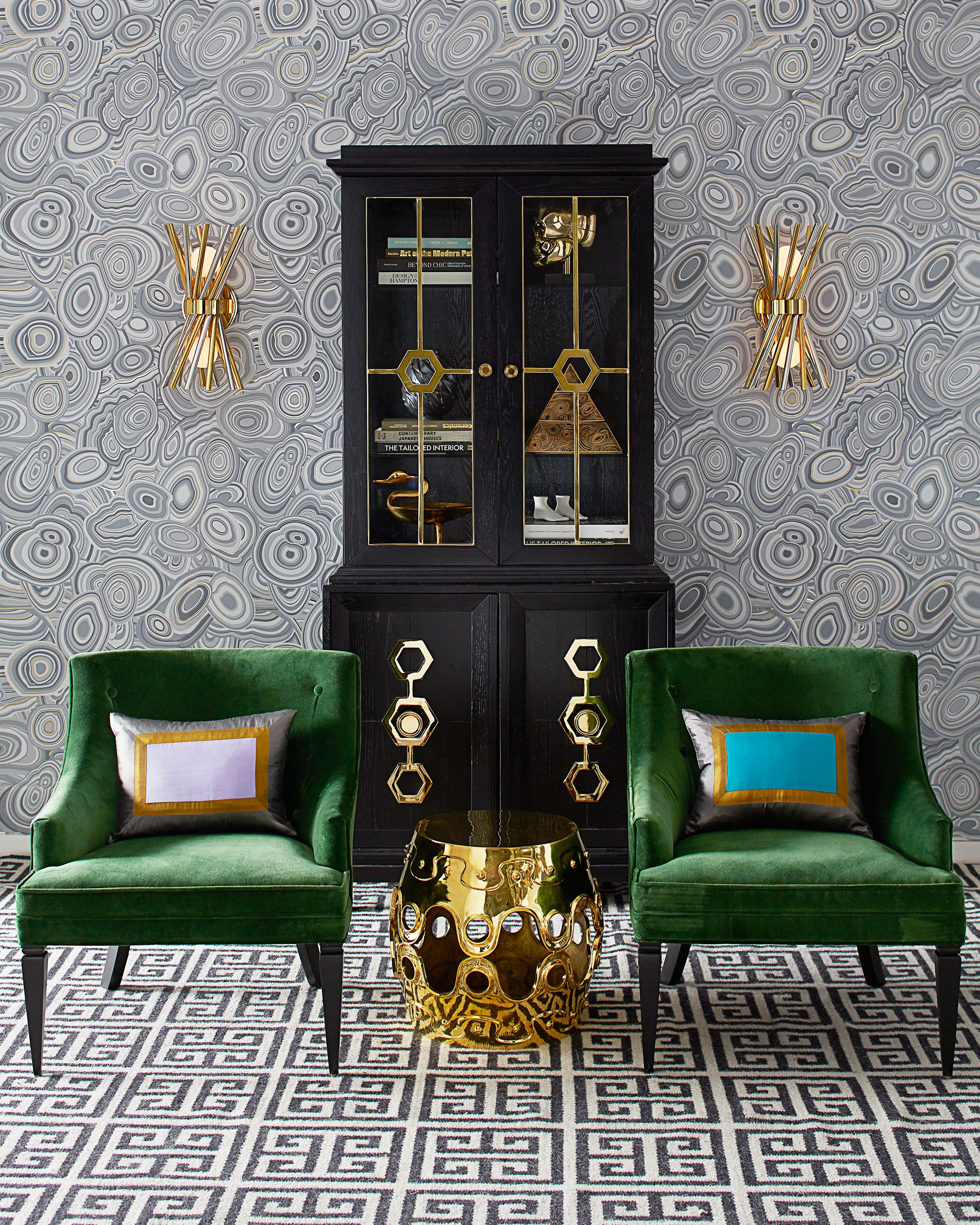View More Jonathan Adler Furniture Lighting And Decorative Accessories That Embody A Modern American Glamour Style