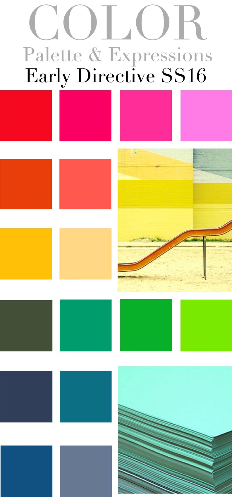 TREND COUNCIL SS 2016 - EARLY COLOR DIRECTION | b&p2018 ...