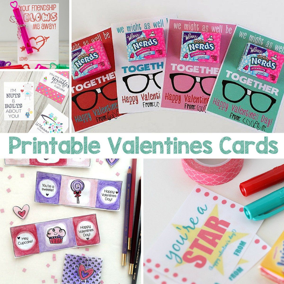 Printable Valentines Cards valentines crafts Pinterest – Valentines Cards for School