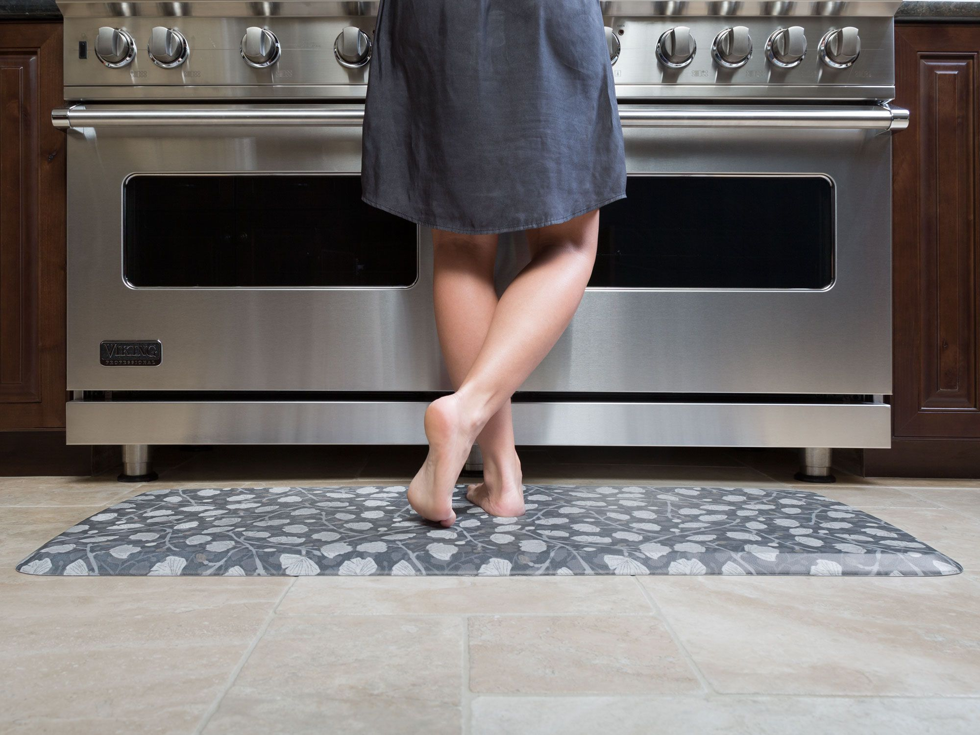 Elite Mat Decorator Collection Organic Anti Fatigue Kitchen Mats