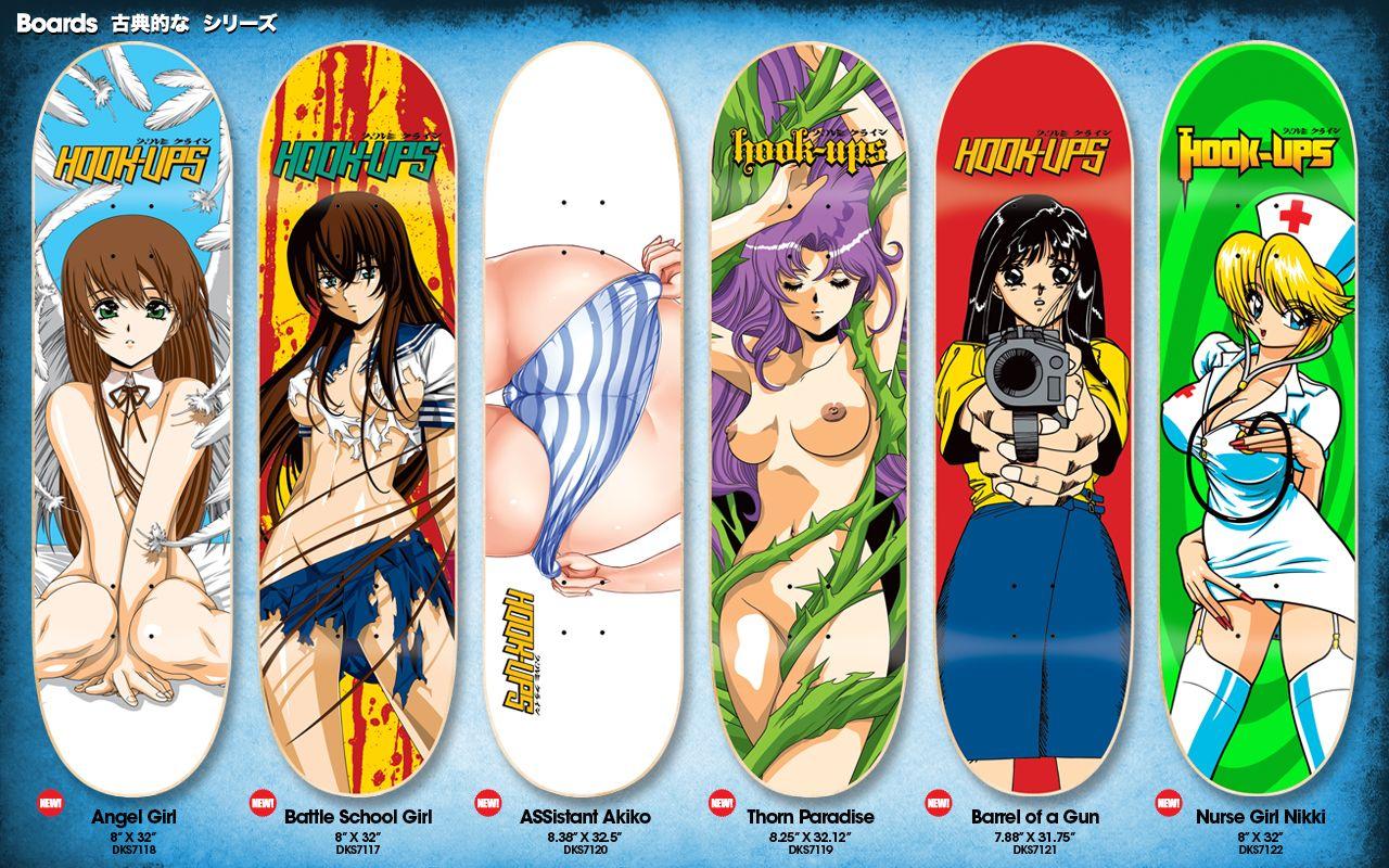 hook ups skateboard decks