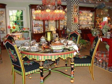 mackenzie childs furniture | Tickle your creative side at MacKenzie-Childs | Painted Furniture
