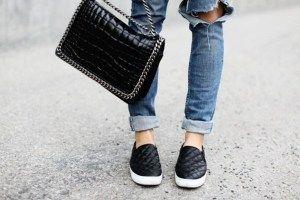 5e412414a The Steve Madden Women's Ecentrcq Slip-On Fashion Sneakers in Black ...