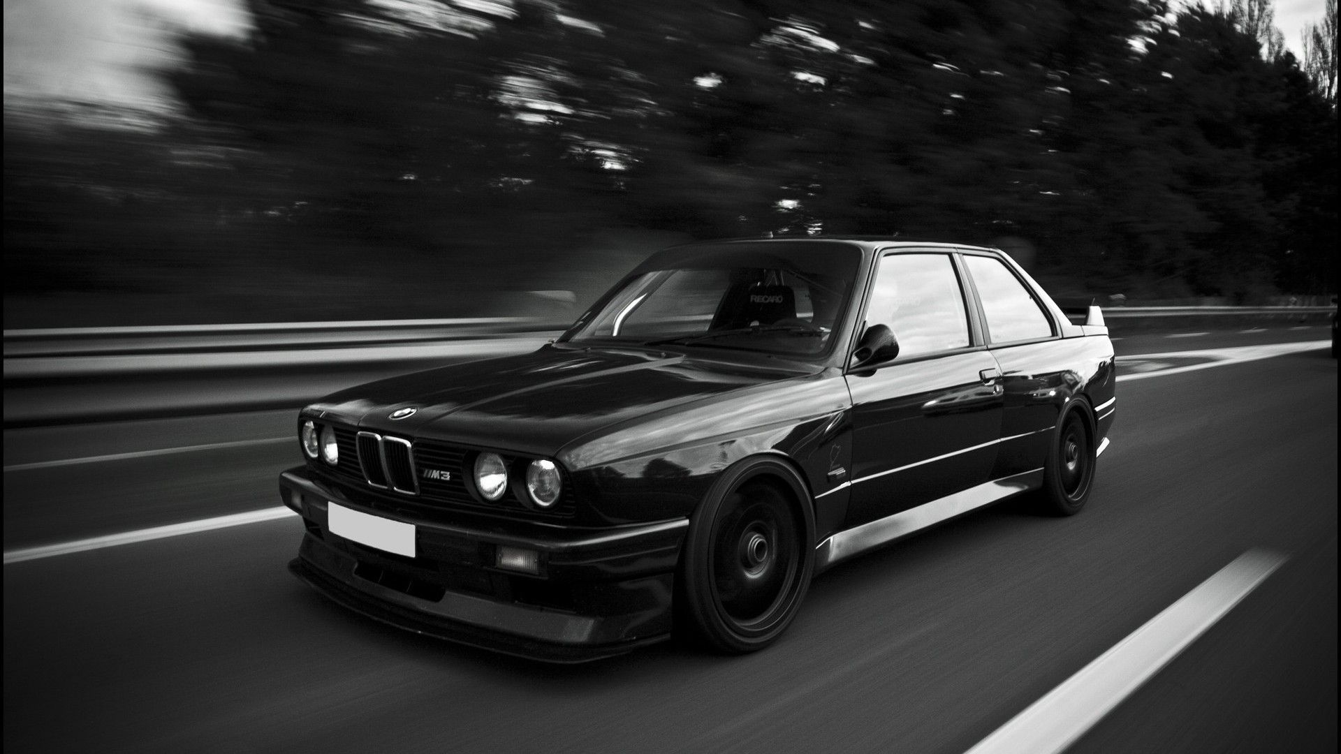 Bmw E30 M3 Black 1920x1080 Reddit Hd Wallpapers Pinterest