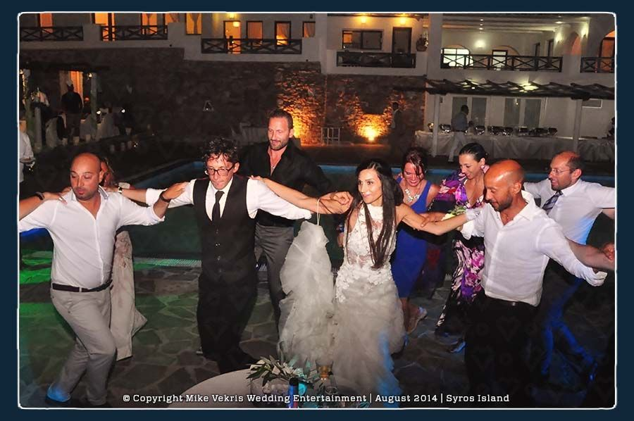 Giuliano & Ilia | Italian Wedding in Syros | August 2014