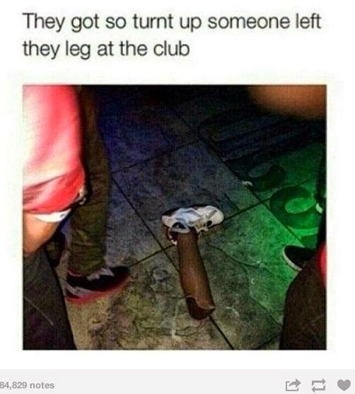 they leg.