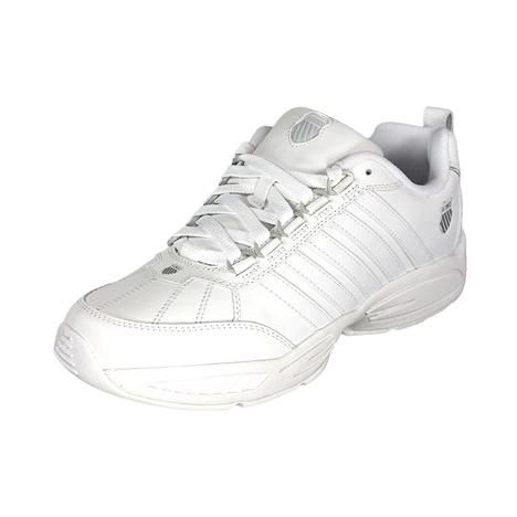 huge selection of 903a1 c0bfd K-Swiss K-Swiss Astonish Womens Leather Walking Shoes ...