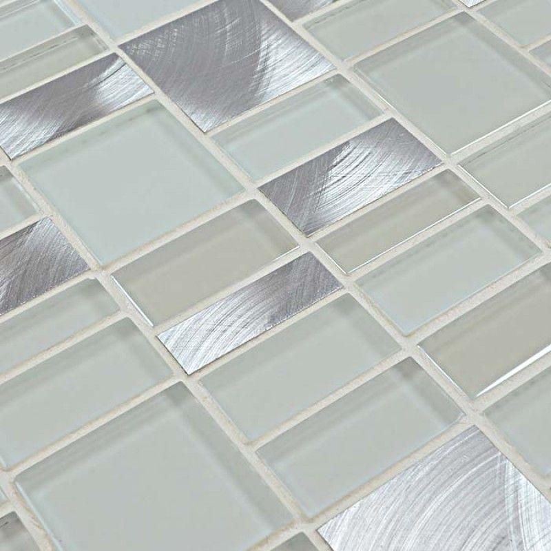 Metal Glass Mosaic Tile Sheets Crystal Glass Tile Kitchen Backsplash Tiles Metallic Mosa Tile Backsplash Glass Tile Backsplash Kitchen Kitchen Tiles Backsplash