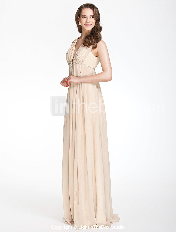 Para mim!  CELESTINA - Vestido de Casamento e Madrinha em Chifon e Cetim Elástico - BRL R$ 269,04