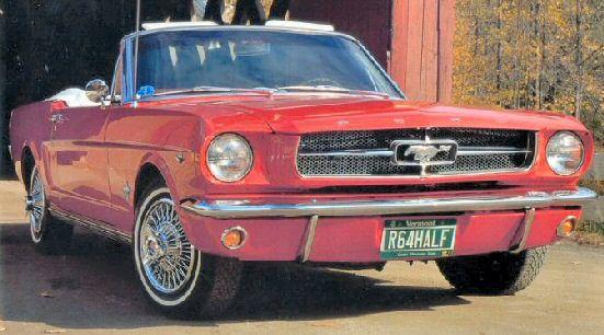 1964 1 2 Ford Mustang Convertible Ford Mustang Convertible Ford Mustang Car Mustang Convertible