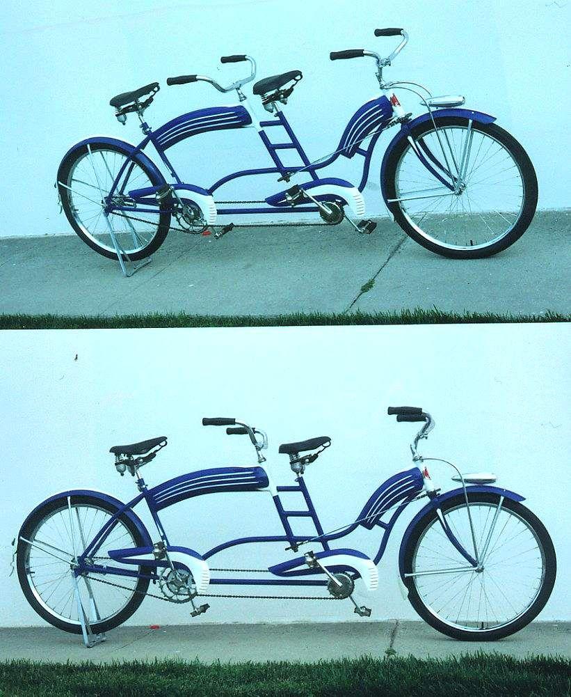 1940 S Colson Tandem Picture 1 Dave S Vintage Bicycles Tandem Bike Bicycle Tandem