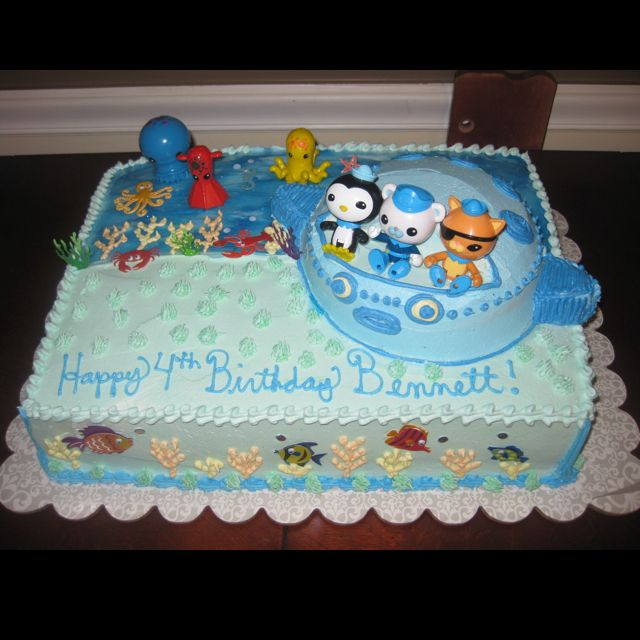 Octonauts birthday cake Thanks Juliehuge success Under the