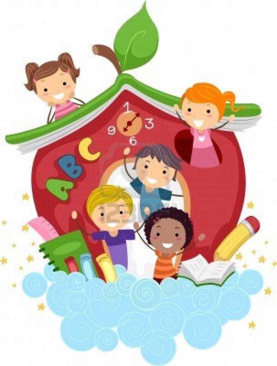 Resultado De Imagen Para Dibujo De Jardin Maternal Juegos Para Ninos Ninos Escolares Dibujos Para Ninos