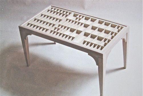 Tafel Voor Printer : Tafel van letterbak furniture objects table printers drawer