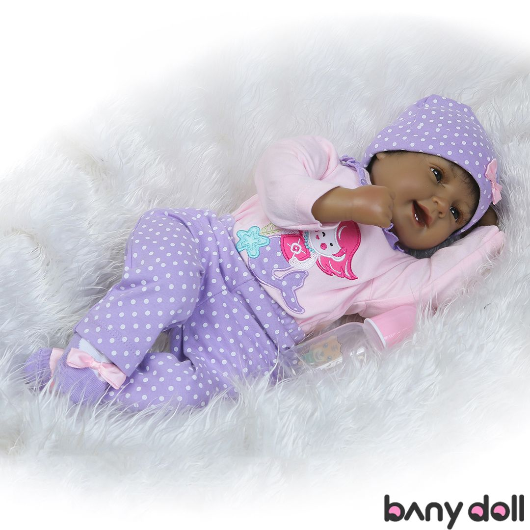 19/'/' Lifelike Reborn Boy Doll Real Premie Baby Newborn Doll Vinyl Birthday Gifts
