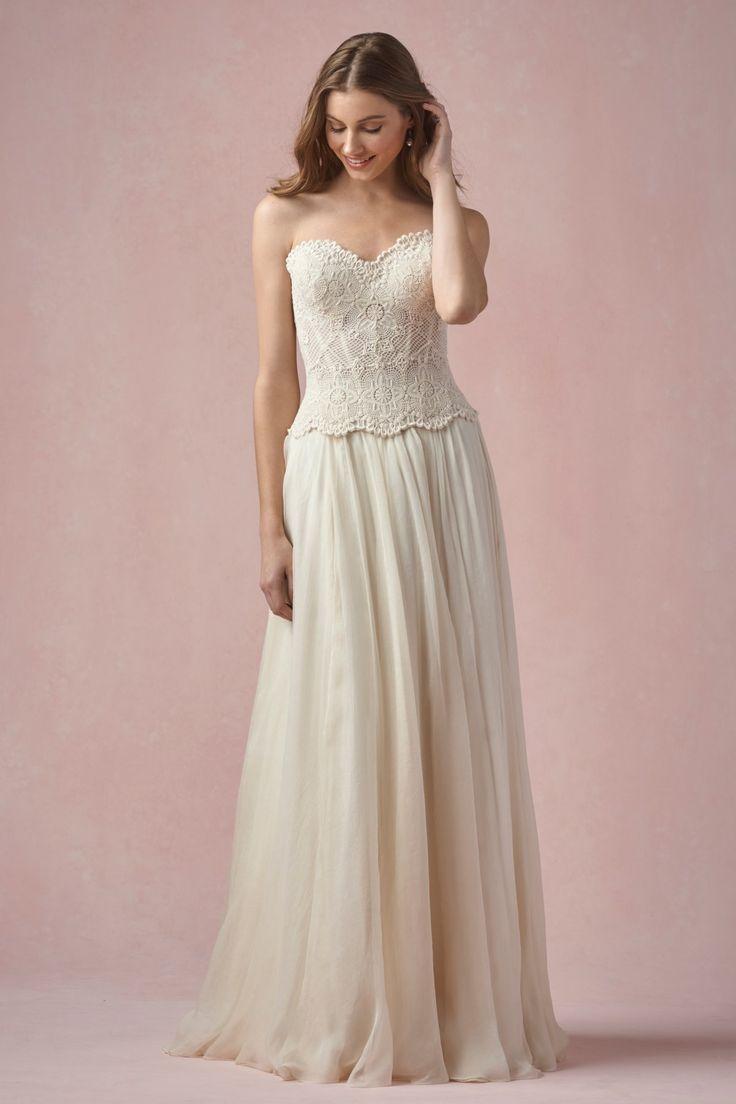 Watters - Bianca Corset | Bohemian. | Pinterest | Wedding dress ...