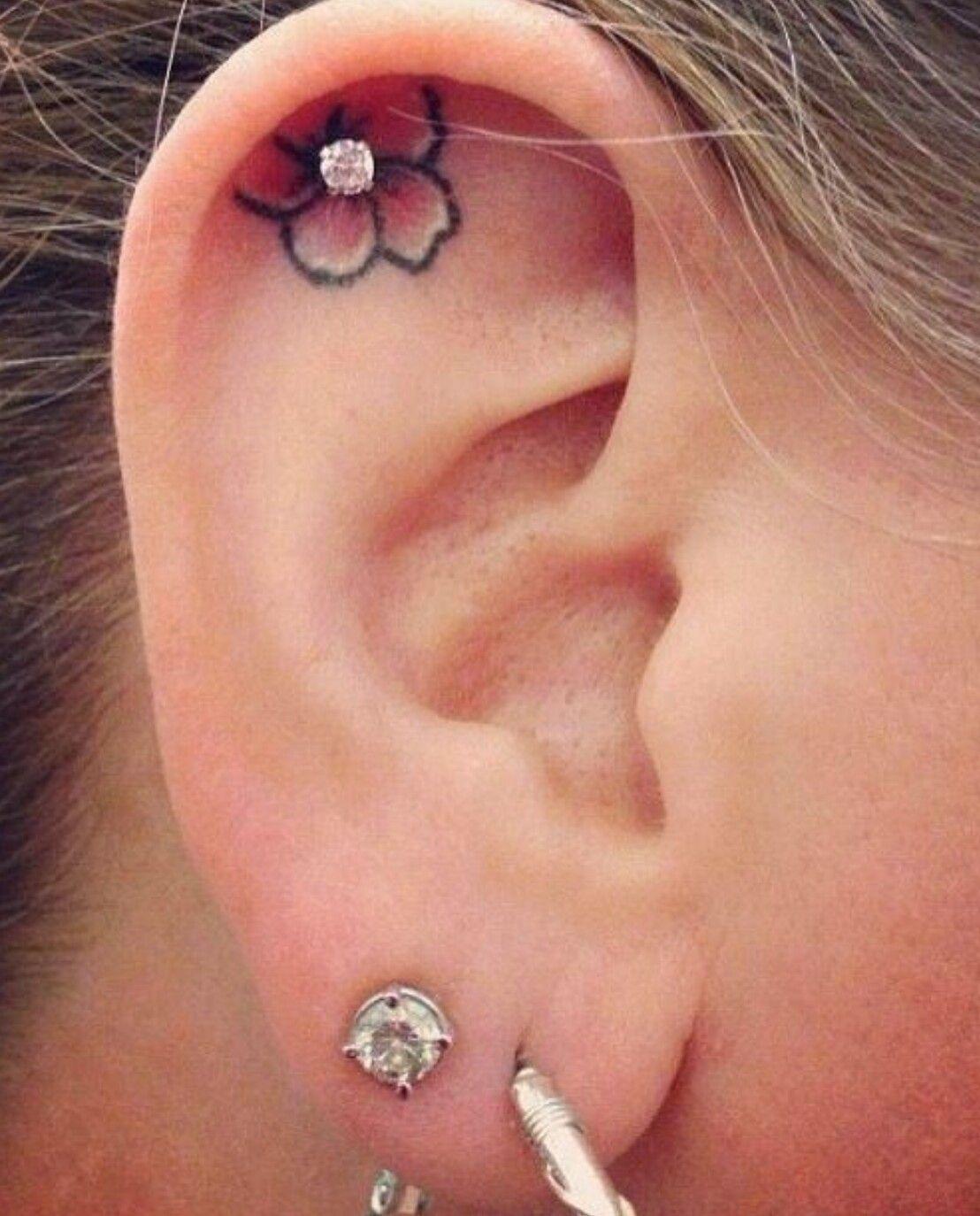 Pin By Beth Richter On Flower Tattoos Pinterest Tatouage