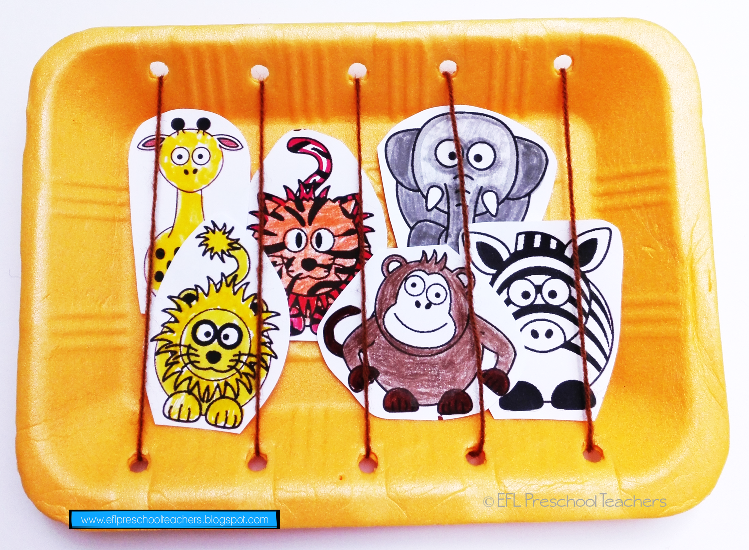Esl Zoo Animals Unit Worksheet And Then I Made A Craft I