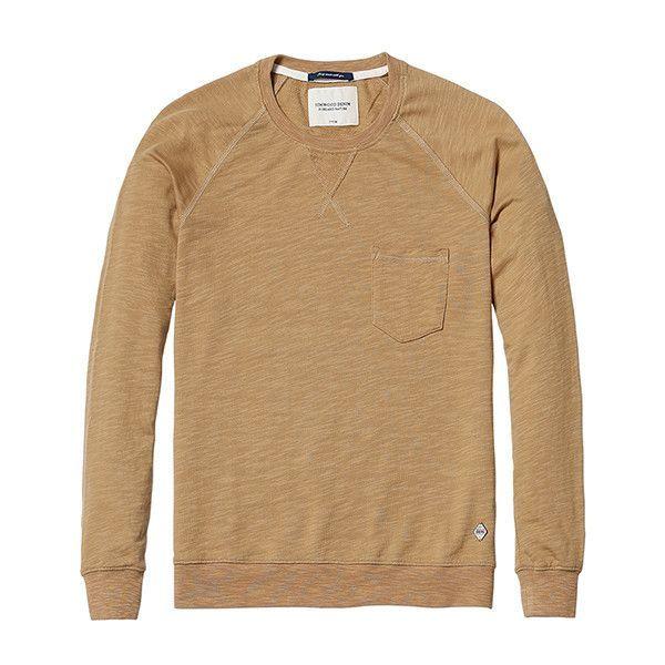 Solid Color Sweatshirt W/ Pocket