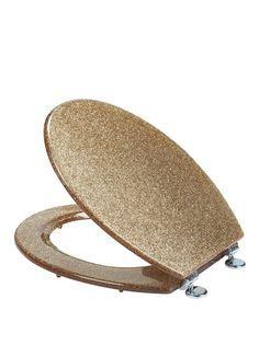 gold glitter toilet seat. Croydex Gold Glitter Toilet Seat  isme com Apartment Pinterest