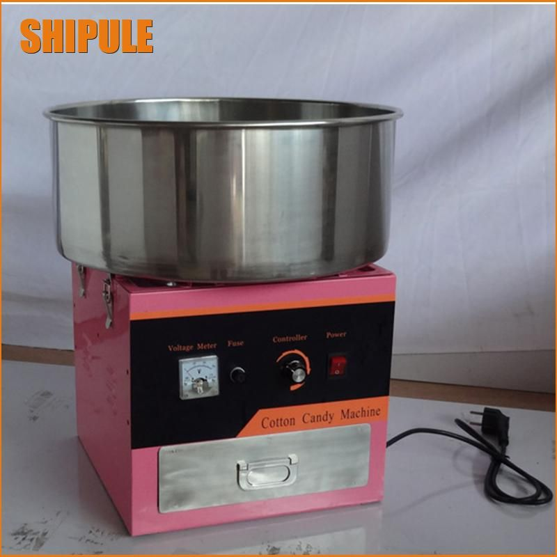 220v Electric Pink Color Commercial Cotton Candy Maker Marshmallow Machine Candy Floss Machine Spun Sugar Machine Cotton Candy Machine Home Appliances Cotton Candy Machines