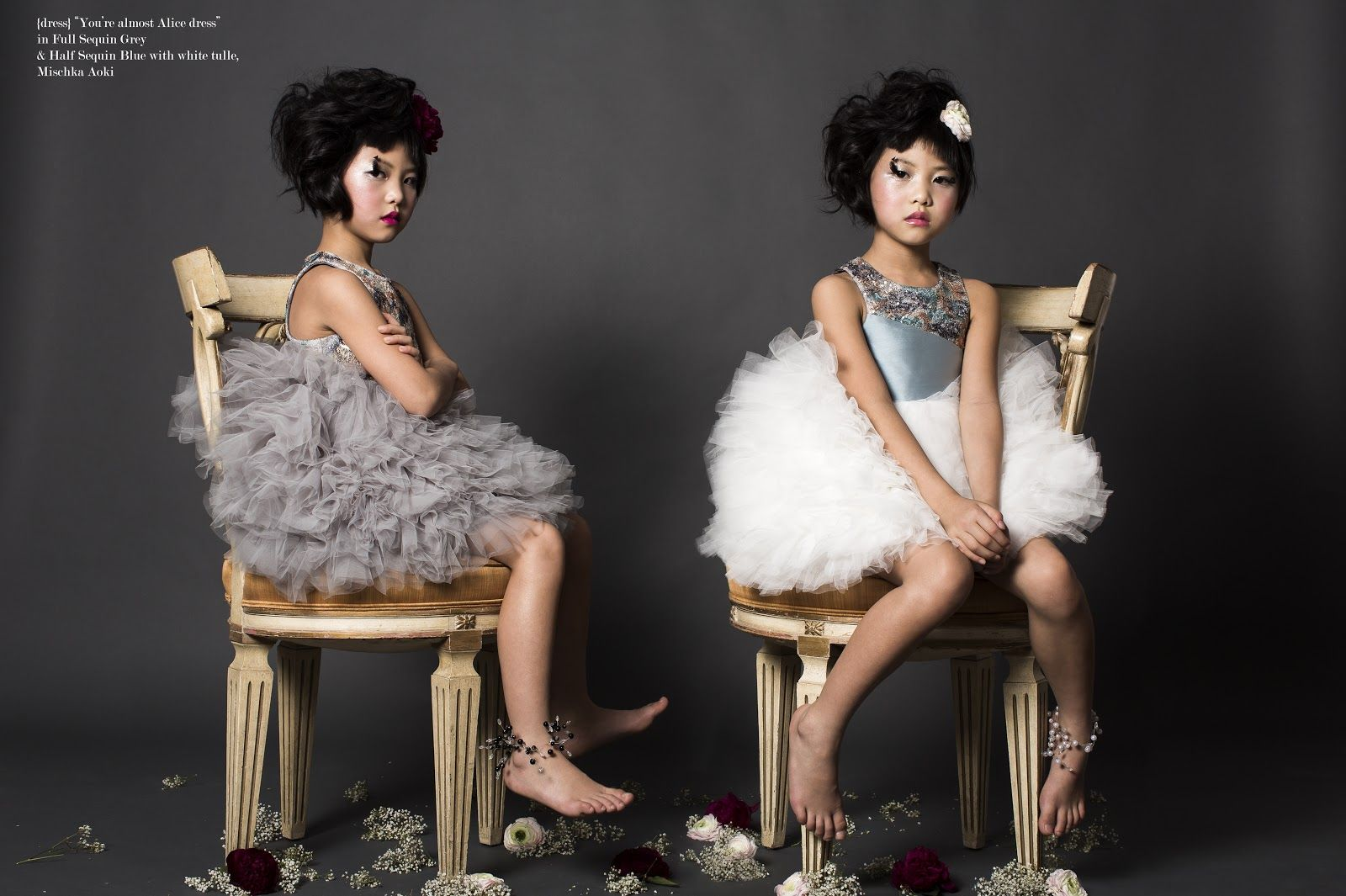 Kids Editorial Styling: A Little Lady in Waiting